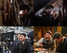 """""""The Age of Shadows"""" Song Kang-ho and Gong Yoo's still cuts"""