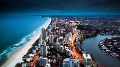 Golden City Coast HD 1080p Wallpapers Download