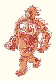 What's Inside? – 18 illustrations colorées de Brosmind | Ufunk.net