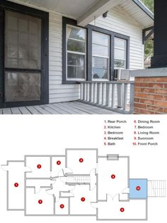 Step inside #BlogCabin 2014 and check out its current floor plan before we remodel  http://www.diynetwork.com/blog-cabin/blog-cabin-2014-as-is-floor-plan/pictures/index.html?soc=pinterest