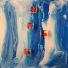 False visioni - Resine su tavola  opera meravigliosa di Giuseppe Portella - Artista in permanenza presso la Galleria Wikiarte di Bologna