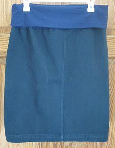 Monkey See, Monkey Do!: Maternity Skirt from Men's Pants