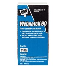 Webpatch 90® Floor Leveler & Patching Compound