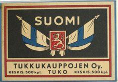 Finland/Suomi Match Box.