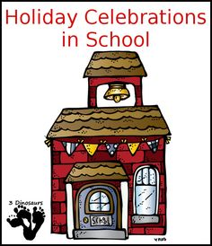 Holiday Celebrations in School - What do they celebrate and what is allowed? - 3Dinosaurs.com