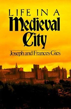 Life in a Medieval City by Frances Gies, http://www.amazon.com/dp/B003JBHV04/ref=cm_sw_r_pi_dp_D9UZqb1JDC6X2