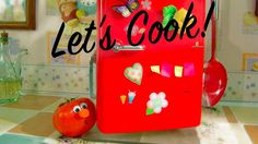 Kitchen fun! Trailer 🍅 Animated Cooking Channel 🍳🍏 Let's cook with Funny...