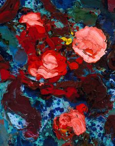 """""""Blooming Sunset Detail"""" Giclee Fine Art Print by Tracey Chikos 11"""" x 14"""""""