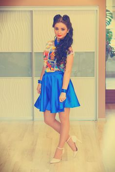 Fashion Brand, Skater Skirt, Campaign, Retro, Skirts, Fashion Branding, Skater Skirts, Skirt