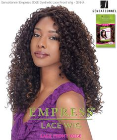 Long Jerry Curl Lace Front Wig Curly Hair Care Styles Medium