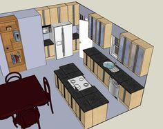 3D Kitchen Design Program  Interior Paint Color Schemes Check Fascinating Design Own Kitchen Layout Inspiration