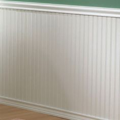 "EverTrue 32"" Paint Grade MDF Edge and Center Bead Wainscot"