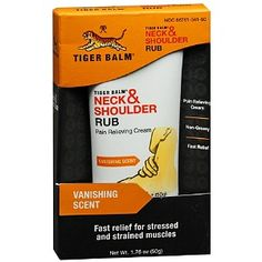 Tiger Balm is a MUST HAVE