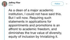 UCLA law professor Stephen Bainbridge's diversity statement Middle Management, Racial Diversity, Gender Equity, Financial Inclusion, Political Ideology, Pledge Of Allegiance, University Of Colorado, The Good Shepherd, Business Management