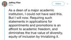 UCLA law professor Stephen Bainbridge's diversity statement Middle Management, Racial Diversity, Gender Equity, Financial Inclusion, Political Ideology, Pledge Of Allegiance, The Good Shepherd, Business Management, Harvard