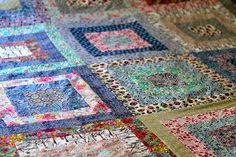 Liberty fabrics...  from BeaSpoke Quilts