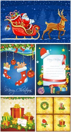 #Christmas backgrounds #vector