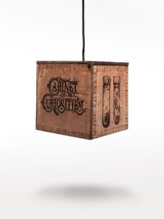 Ceiling Lights – Lamp - Cabinet of Curiosities – a unique product by LumiLamp on DaWanda