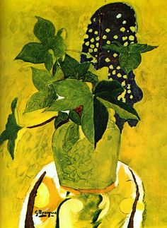 Still life with flowers, 1945 Georges Braque