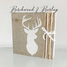 Woodland Decor, Rustic Decor, Girl Nursery, Nursery Decor, Deer Head Decor, White Acrylic Paint, Custom Wood Signs, Deer Antlers, Nursery Neutral