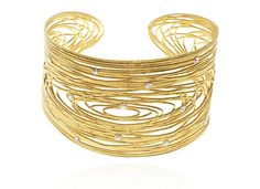 Gold-plated silver bracelet with crystals - Stroili Oro