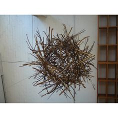 twig ball lights for outdoors - like a nest