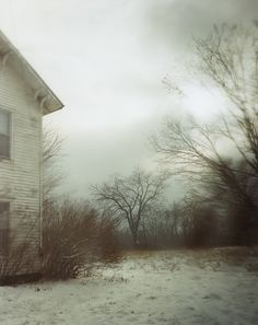 Todd Hido Untitled #9189 2010 chromogenic print this reminds me of my childhood home so much its stirring for reasons I cannot quite pinpoint