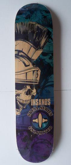 Shape Skate Longboard 40 Tail E Nose Simétricos Insanos - R$ 127,00 no MercadoLivre