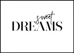 Dreams Poster in the group Prints / Typography & quotes at Desenio AB