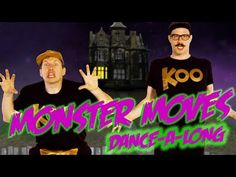 Get loose, get funky, and get down with this short dance video. This video comes from GoNoodle's Koo Koo Kanga Roo channel. Halloween Music, Halloween Kids, Halloween Songs For Preschoolers, Halloween Activities For Kids, Preschool Songs, Kids Songs, Music For Kids, Yoga For Kids