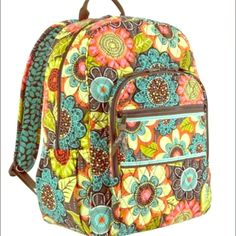 Vera Bradley Campus Backpack  NWOT Brand new (without tags) Vera Bradley Campus Backpack in Flower Shower! Receive this as a gift, but already own a backpack in a similar pattern!! Make me an offer!! Please don't low ball!  Vera Bradley Bags Backpacks