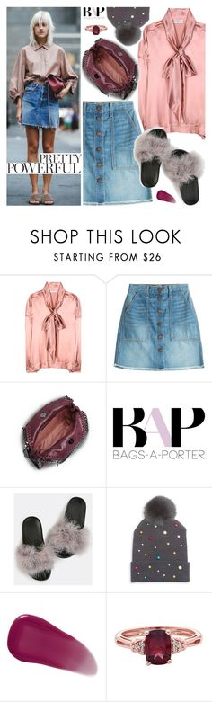 """""""#BAPmix Summer Saturday Somewhere"""" by bagsaporter ❤ liked on Polyvore featuring Balenciaga, Current/Elliott, STELLA McCARTNEY, Prada, House of Lafayette and Givenchy"""