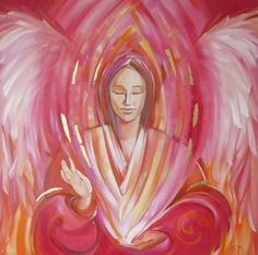Angel Paintings - INSPIRATIONAL ART BY JANE DELAFORD TAYLOR