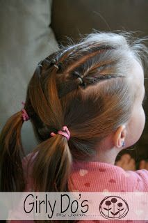 Flips Into Pig Tails from Girly Do Hairstyles