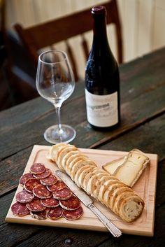 fromage et saucisson - yummy! Bin 152 - Charleston, SC