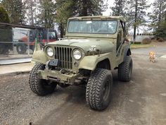 1953 Willys M38A1 - Photo submitted by Brittany Jacobsen.
