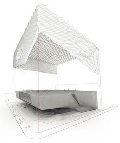 The Broad   Designer: Diller, Scofidio + Renfro   Location: Los Angeles, CA