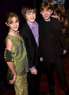 November 11, 2001  At the Harry Potter and the Sorcerer's Stone premiere in NYC