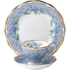 Royal Albert Sentiment Teas Memories 3-piece Tea Set