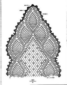 many free crochet diagram patterns Crochet Table Runner Pattern, Free Crochet Doily Patterns, Crochet Motifs, Crochet Tablecloth, Filet Crochet, Crochet Doilies, Crochet Stitches, Crochet Lace Scarf, Thread Crochet