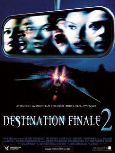 Final Destination 2 , starring A.J. Cook, Ali Larter, Tony Todd, Michael Landes. When Kimberly has a violent premonition of a highway pileup she blocks the freeway, keeping a few others meant to die, safe...Or are they? The survivors mysteriously start dying and it's up to Kimberly to stop it before she's next. #Horror #Mystery