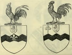 Vavasour arms of the baronets of Spaldington and Hazlewood, with Crests, from…
