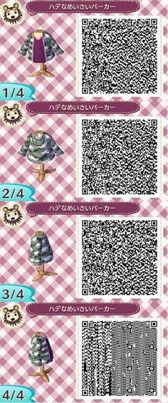 Animal crossing new leaf jacket qr code
