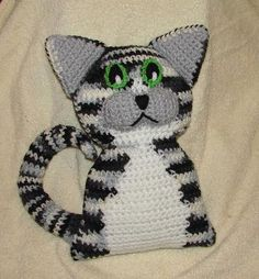 Looking for your next project? You're going to love Milo Kitty Crochet Pattern by designer Stormyz Crochet.