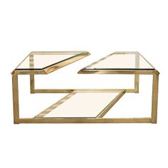 This is the final week of @Alison Victoria as our guest curator--check out her new picks! This Milo Baughman Double Cantilever Brass Coffee Table is stunning! See all of Alison's local finds at http://classifieds.chicagomag.com/