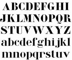 Cool font, Corbusier Stencil