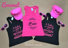 Bacherolette Party, Wedding Party Favors, Bachelorette Party Shirts, Greek Wedding, Team Bride, Single Women, Drink Sleeves, Athletic Tank Tops, Bridal Shower
