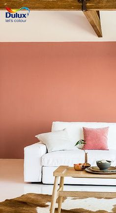 Dreaming of a living room to unwind in after a hectic day? Create a stylish oasis with our 2015 Colour of the Year: #CopperOrange >> http://www.dulux.co.za/en/inspiration/relax-in-style-with-warm-copper-orange