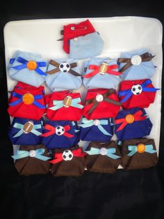 Dirty Diaper Game Baby Shower Sport theme. As you're guest arrives give them a Diaper to pin as a corsage When you are ready to play games ask your guest to look in their Diaper the one that has the popped diaper wins the game