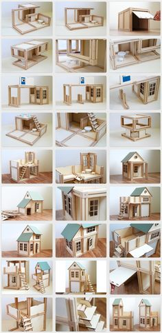 WoodyMac, Inc. is raising funds for WoodyMac - Magnetic Building Blocks (Canceled) on Kickstarter! Wooden, magnetic, architectural toy - a building block set for boys, girls and fun loving adults. Family-friendly activity for everyone Popsicle Stick Houses, Popsicle Stick Crafts, Craft Stick Crafts, Doll Furniture, Dollhouse Furniture, Magnetic Building Blocks, Doll House Plans, Diy Dollhouse, Toddler Dollhouse